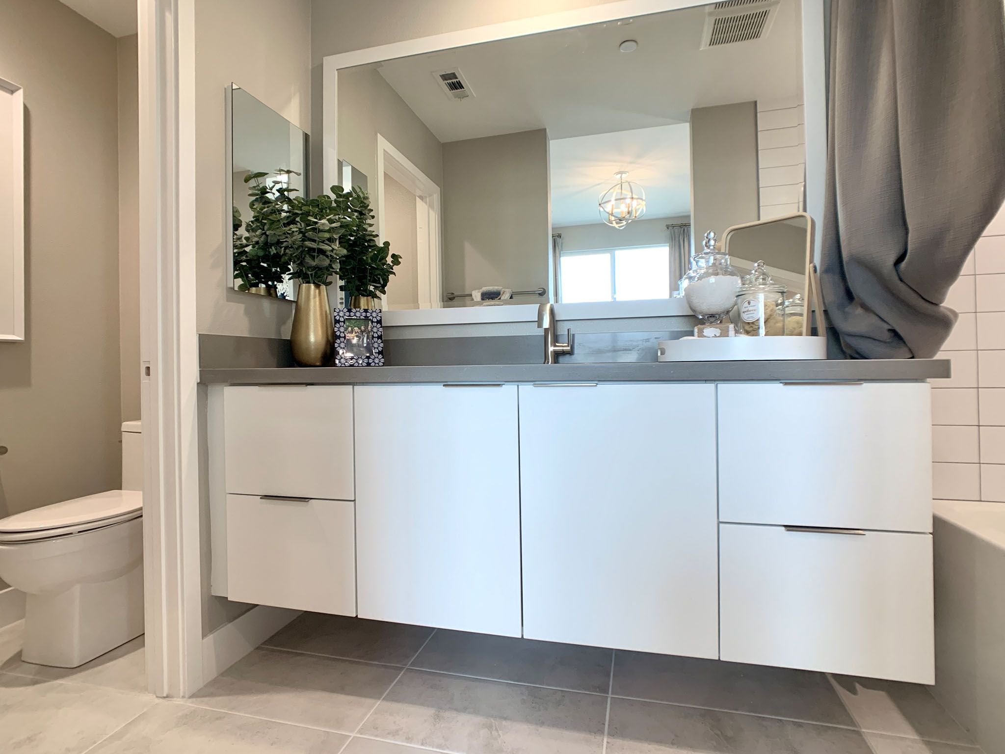 Bathroom featured in the Plan Three By Williams Homes in Los Angeles, CA