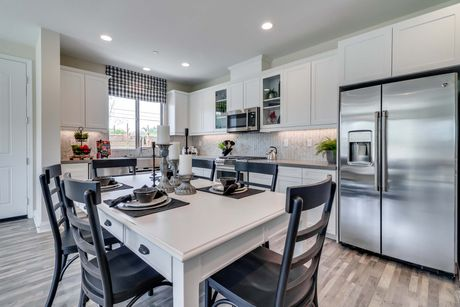 Kitchen In Residence 1 At Pacific Villas In Baldwin Park