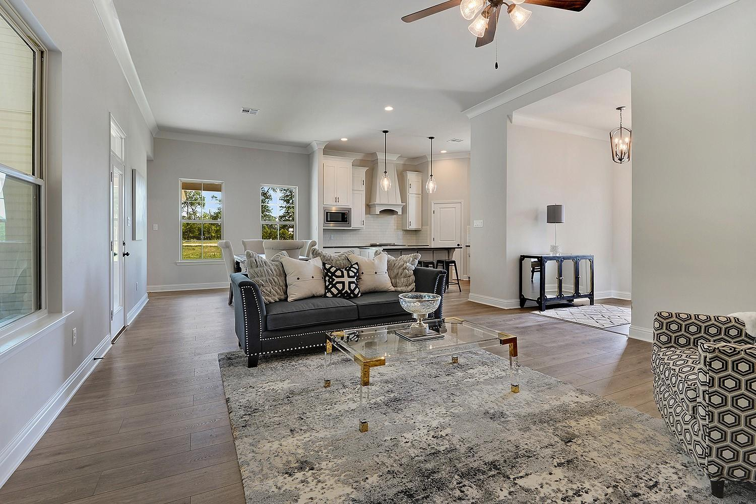 Living Area featured in the Savoy II By Willie & Willie  in Baton Rouge, LA