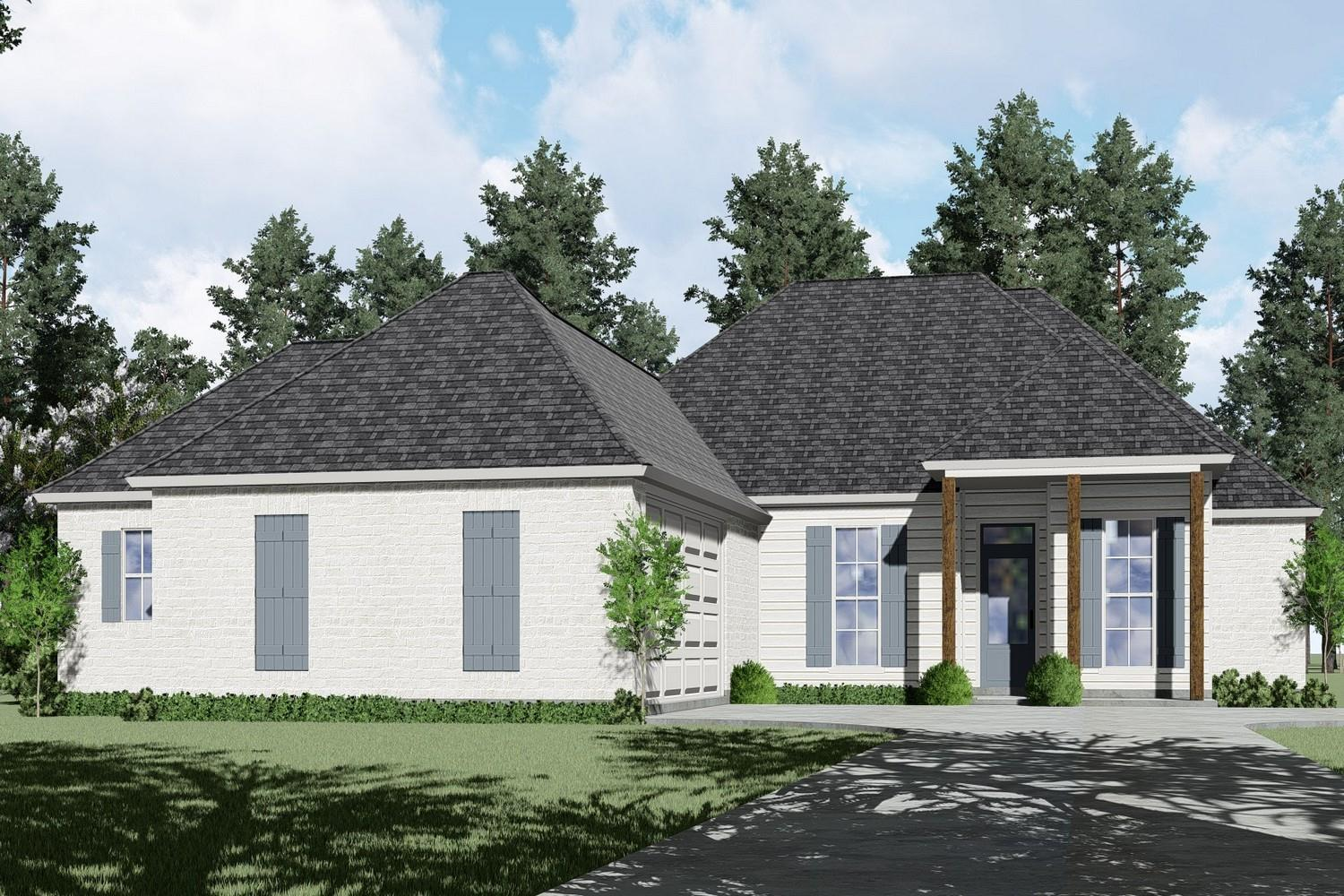 Exterior featured in the Naples III By Willie & Willie  in Baton Rouge, LA