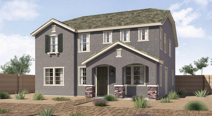 A Elevation:Cottage