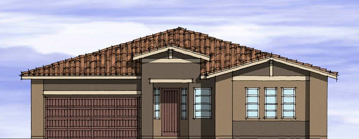 Elevation A:Desert Ranch