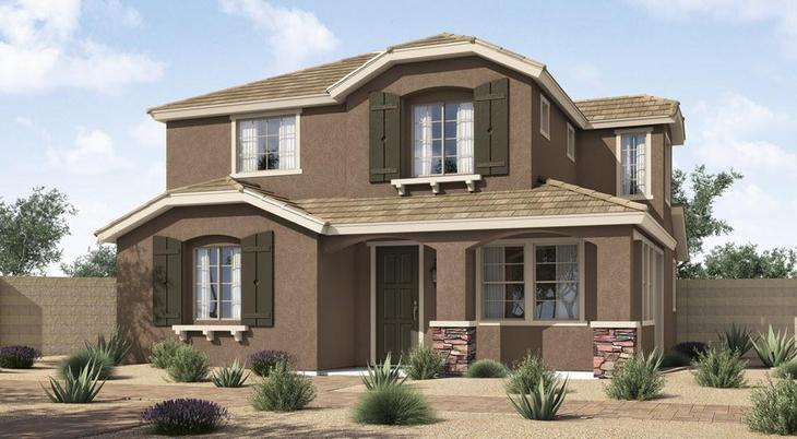 Elevation A:Cottage