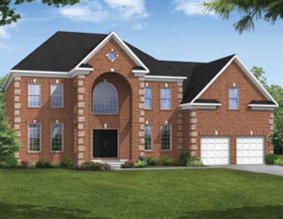 Exterior featured in the Dorchester IV By Williamsburg Homes LLC in Baltimore, MD