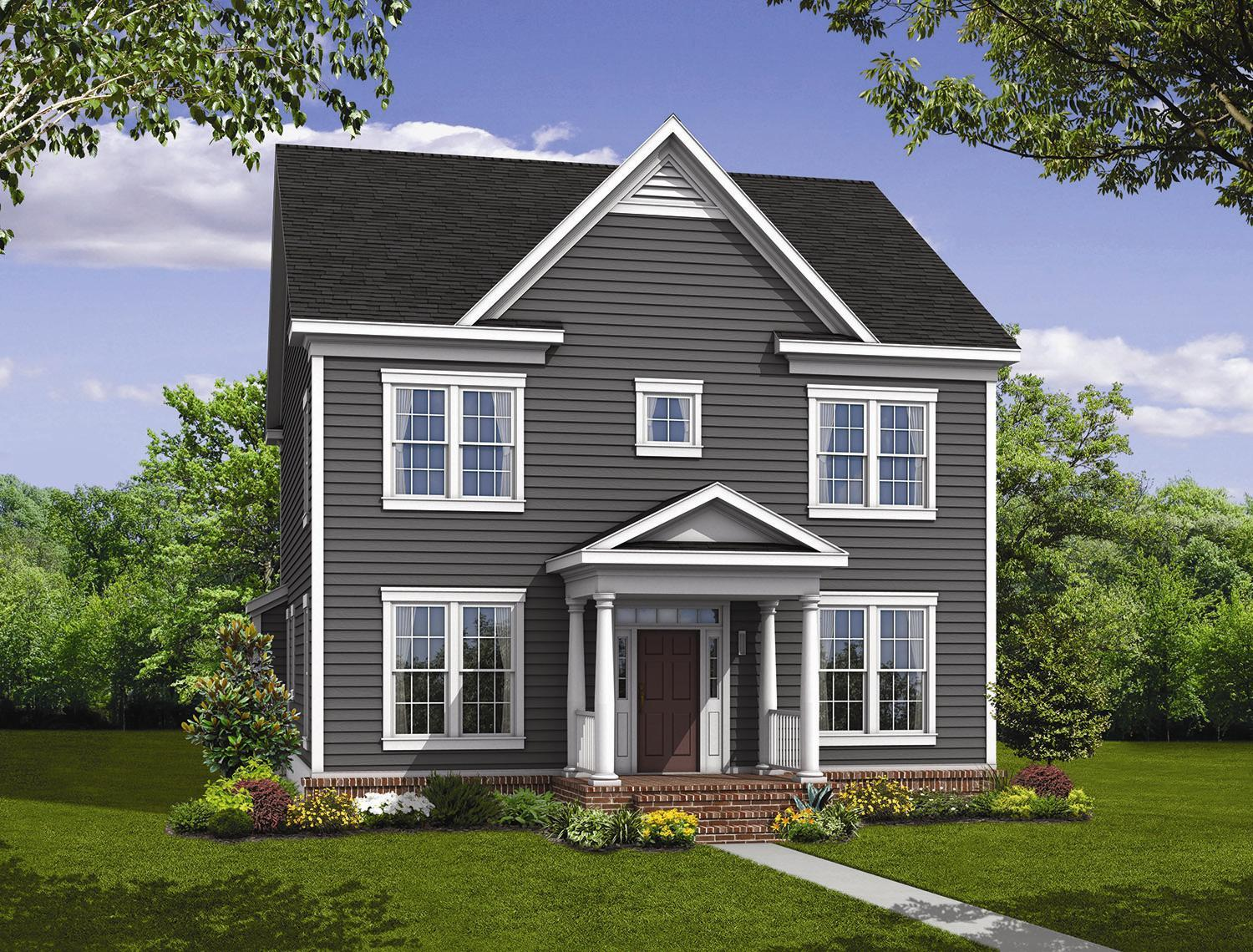 Exterior featured in the Lexington By Williamsburg Homes LLC in Baltimore, MD