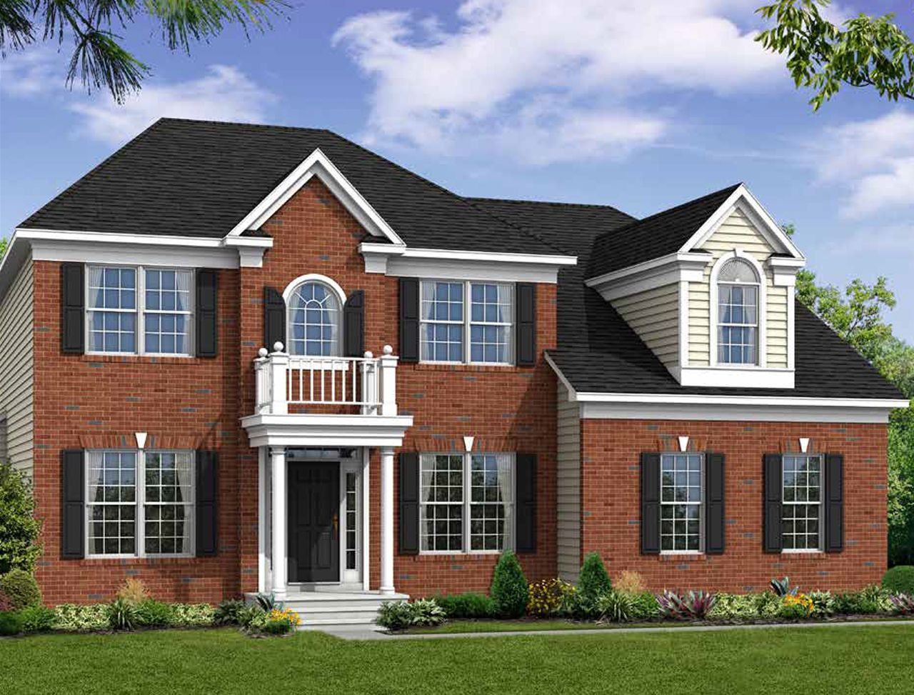 Exterior featured in the Adrienne's Honneur II By Williamsburg Homes LLC in Baltimore, MD