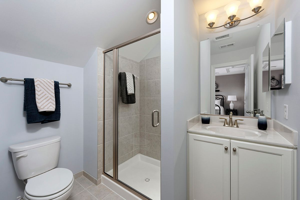 Bathroom featured in the Garden - Interior By Williamsburg Homes LLC in Baltimore, MD