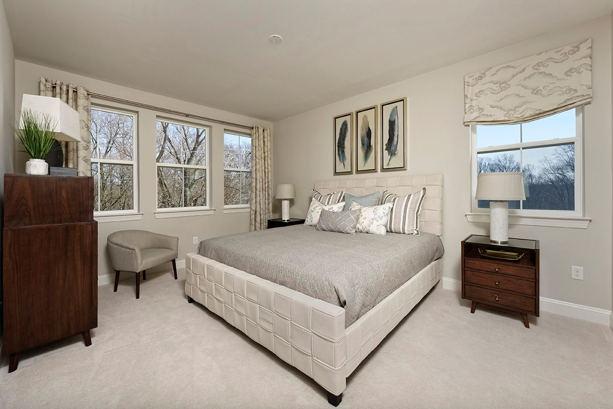 Bedroom featured in the Garden - Interior By Williamsburg Homes LLC in Baltimore, MD