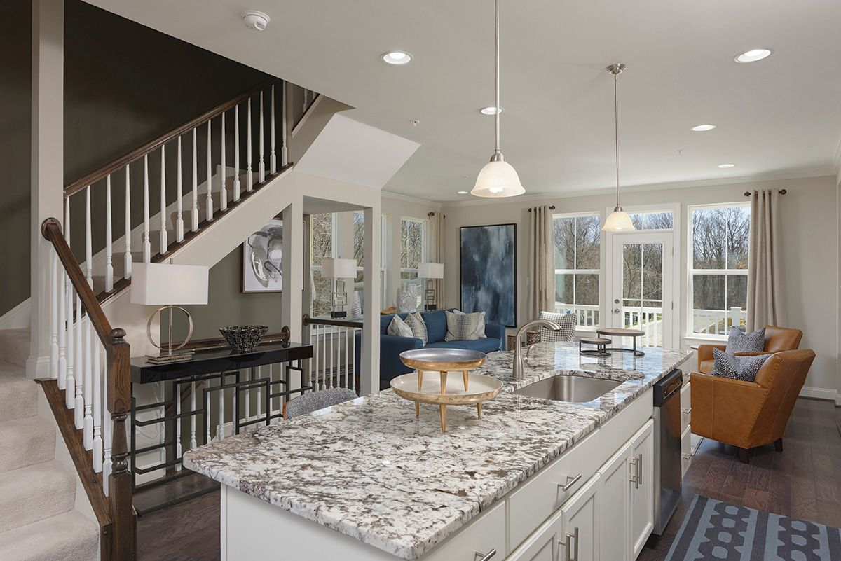 Living Area featured in the Garden - Interior By Williamsburg Homes LLC in Baltimore, MD