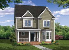 Mount Vernon w/Attached Garage - Greenleigh: Middle River, Maryland - Williamsburg Homes LLC