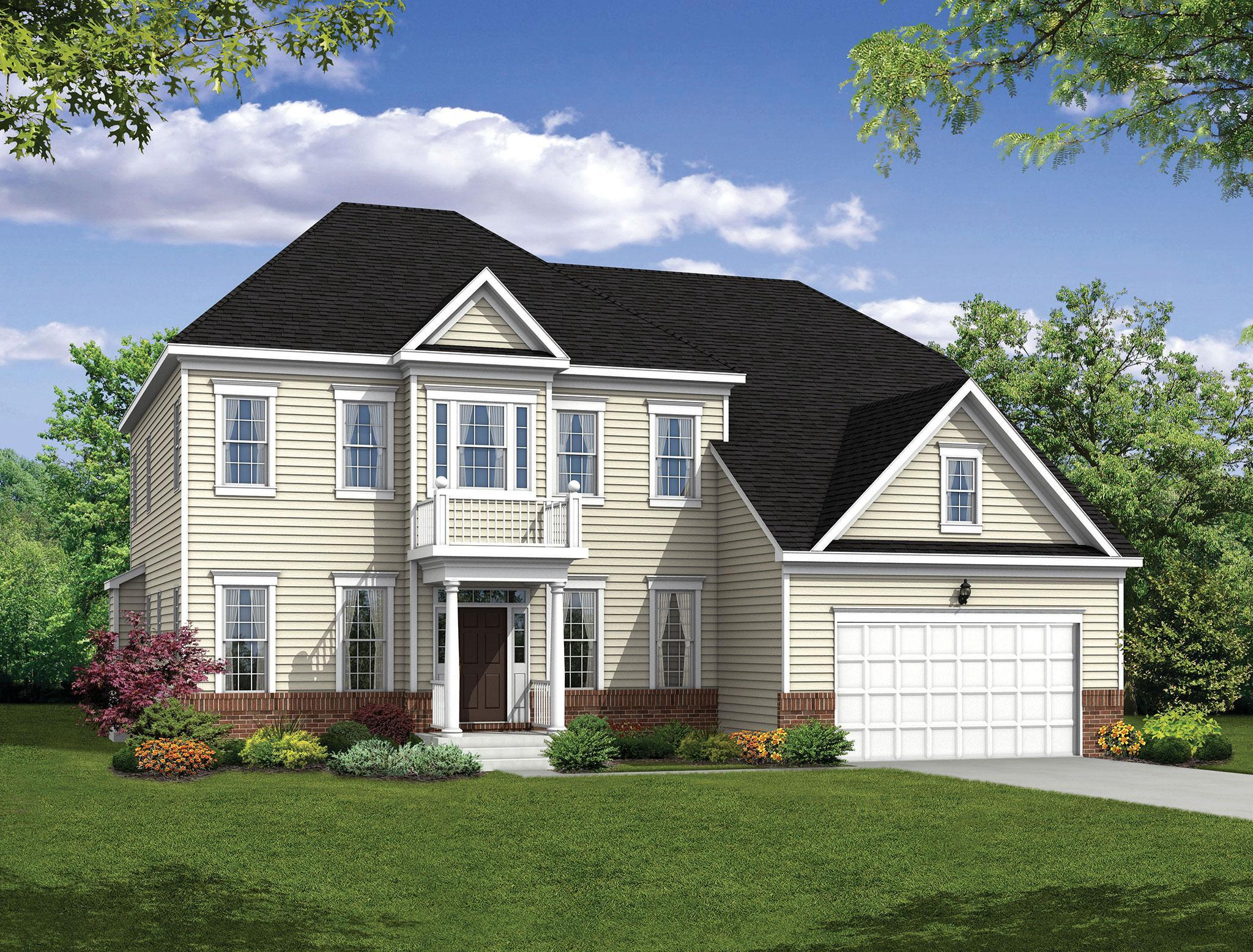 Exterior featured in the Stratton By Williamsburg Homes LLC in Baltimore, MD