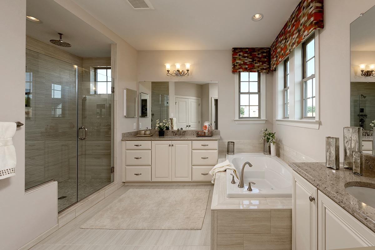Bathroom featured in the Hawthorne Greenleigh By Williamsburg Homes LLC in Baltimore, MD