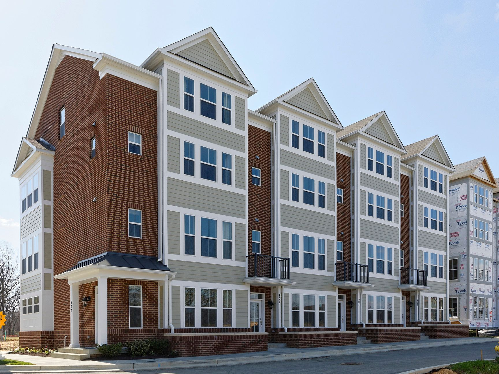 'Annapolis Townes at Neal Farm' by Williamsburg Homes LLC in Baltimore