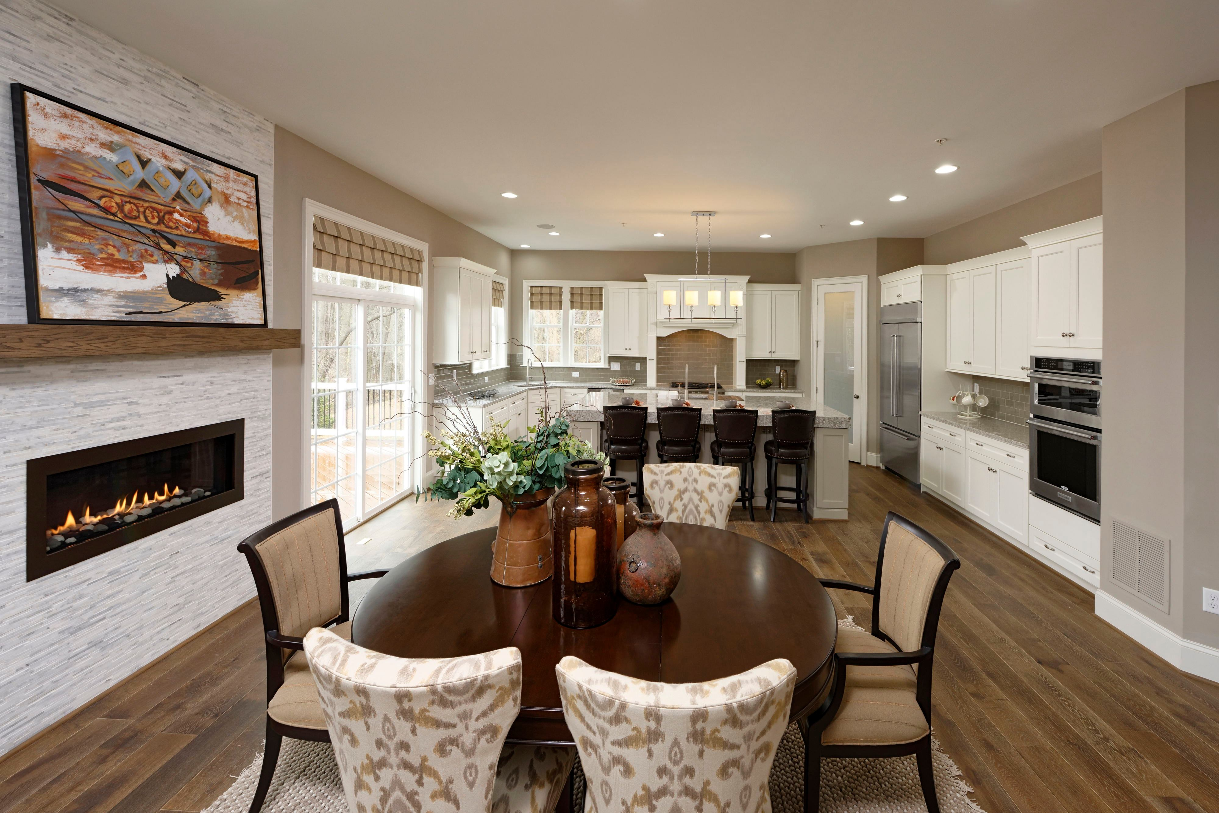 Living Area featured in the Wellington By Williamsburg Homes LLC in Baltimore, MD