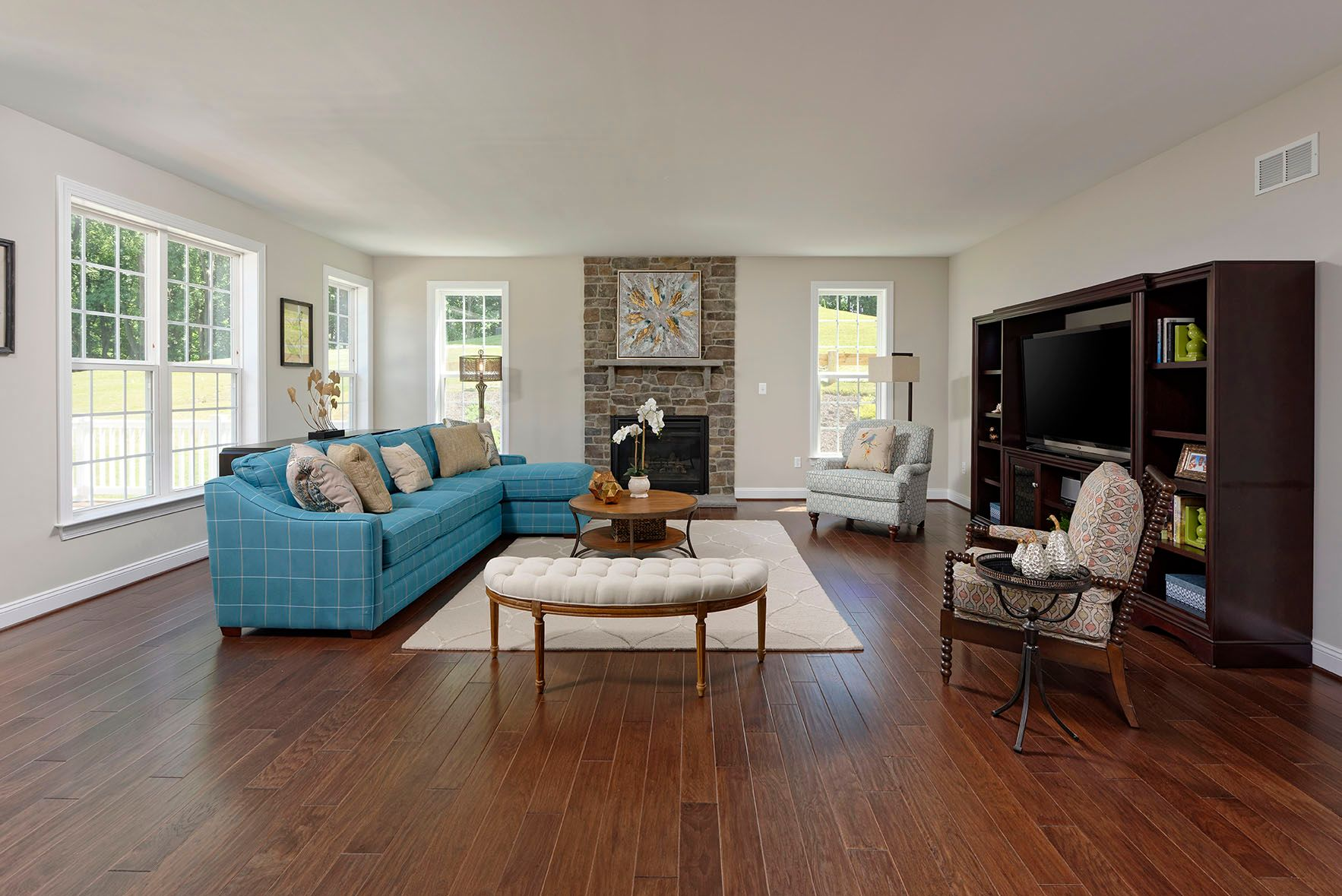 Living Area featured in the William Deaven II  By Williamsburg Homes LLC in Baltimore, MD