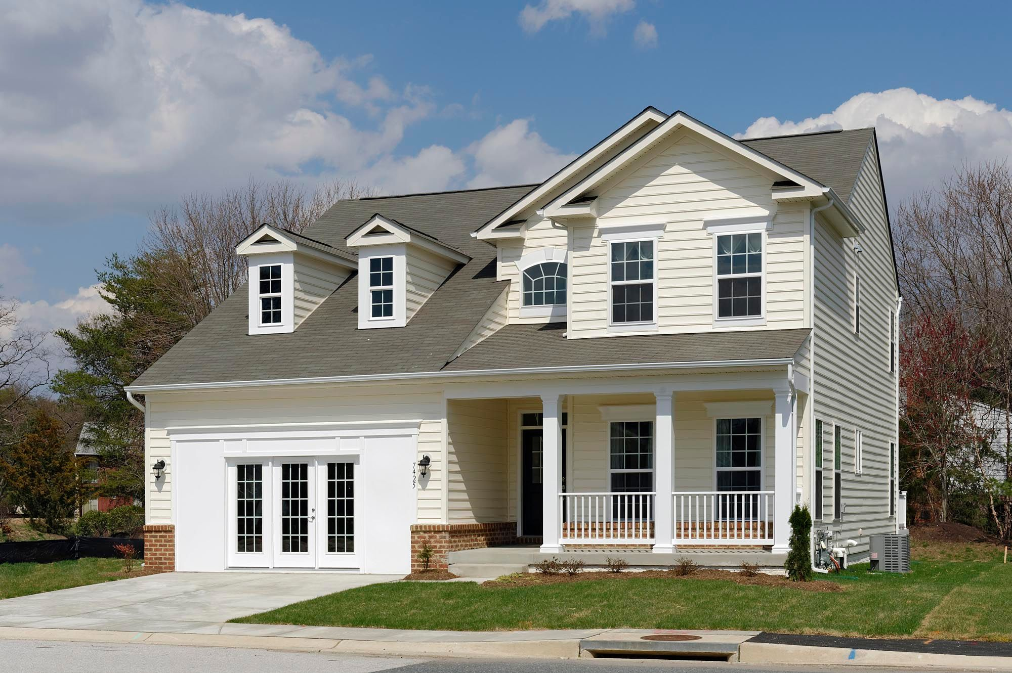 Exterior featured in the Ellicott II By Williamsburg Homes LLC in Baltimore, MD