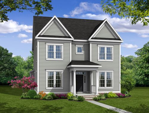 Lexington w/Attached Garage-Design-at-Greenleigh-in-Middle River