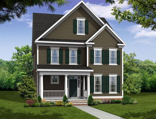 Mount Vernon w/Attached Garage-Design-at-Greenleigh-in-Middle River