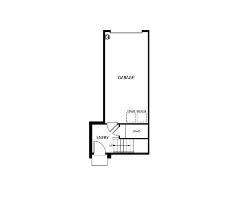 Verge at Novel Park First Floor  Floorplan