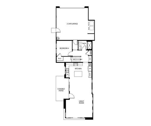 Trend at Novel Park First Floor Floorplan