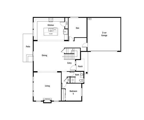Havenwood First Floor Floorplan