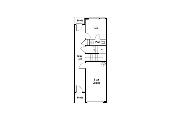 Parkside at Juanita First Floor Floorplan