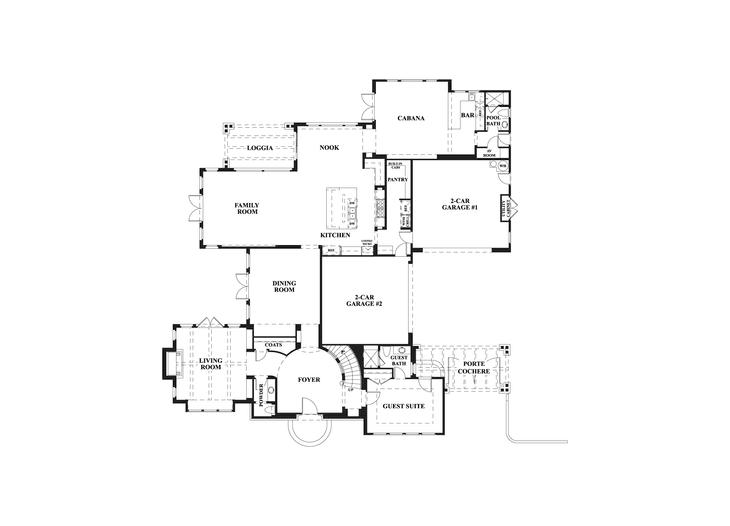 Artisan Collection  First Floor  Floorplan