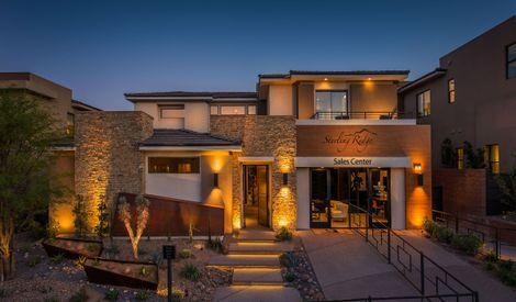 Sterling Ridge In Las Vegas Nv New Homes Floor Plans