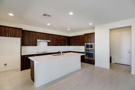 Kitchen-in-Jade Plan 4-at-Ovation at Mountain Falls-in-Pahrump