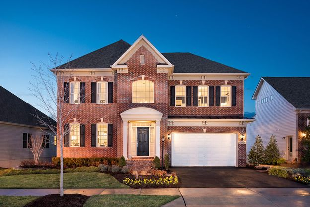 Winchester Homes - uncategorized - 1844:The Bradley at Landsdale by Winchester Homes