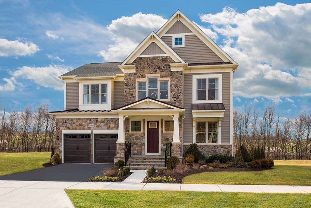 Winchester Homes - uncategorized - 3128:The Wright at West Grove - Elevation 03