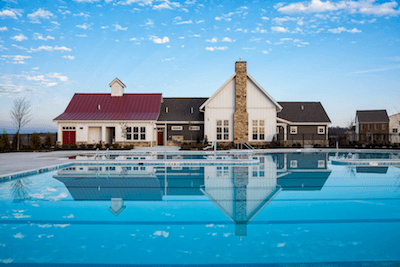 Pool & Clubhouse at Landsdale:Landsdale Community