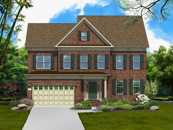 BDD51893-9086-62E1-9BE73B9944341189-2:The Bradley by Winchester Homes - Elevation 94