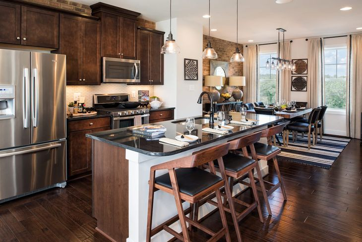 Winchester Homes - uncategorized - 1072:The Lakeshore at The Avenue Series by Winchester Homes