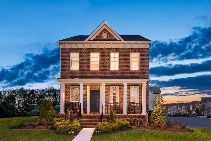 Winchester Homes - uncategorized - 1834:Barrington Model Home | Exterior