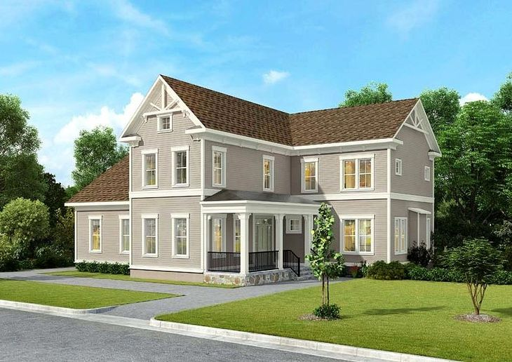 Winchester Homes - uncategorized - 1716:Clifton - Elevation 01