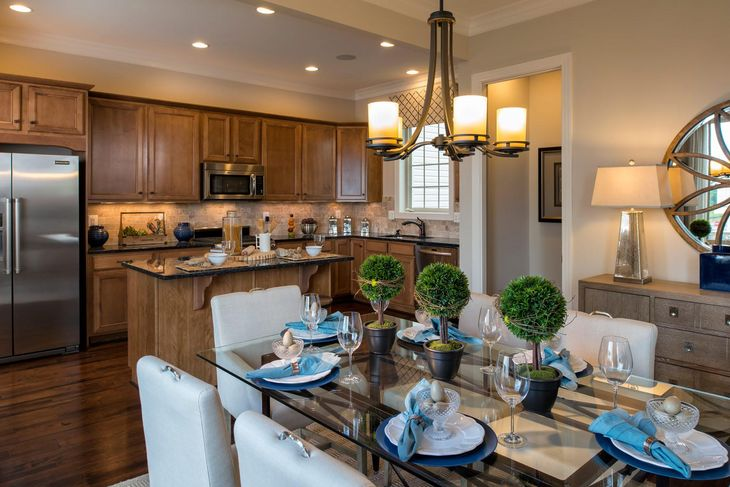 Winchester Homes - uncategorized - 2945:A spacious, open kitchen perfect for entertaining