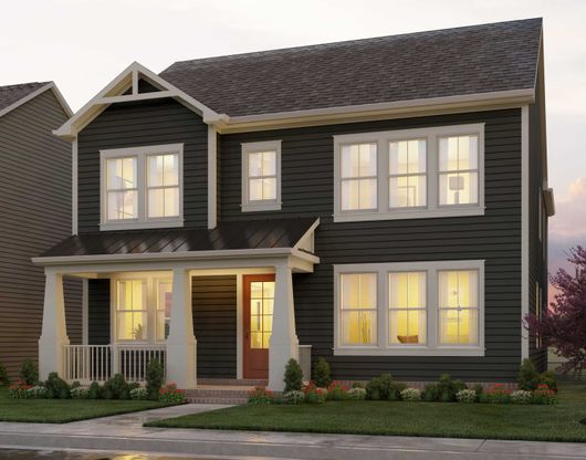 The Winston:Winston Floor Plan at The Villages at Cabin Branch