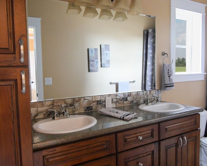 Badlands Interior Details:Windsong Custom Homes offers hundreds of interior finishing options