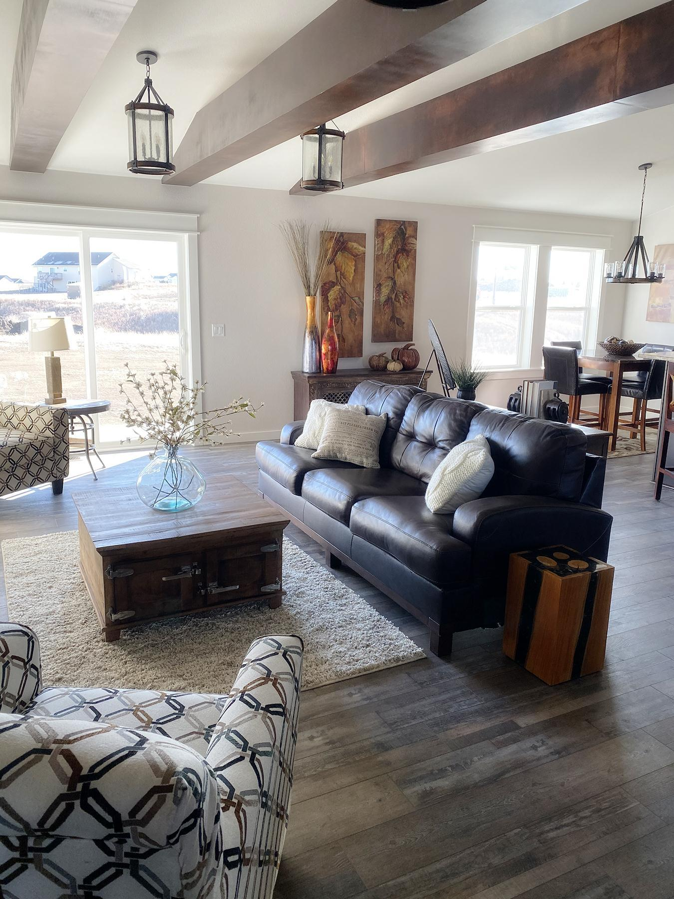 Living Area featured in the McKinley Ranch By Windsong Custom Homes in Billings, ND