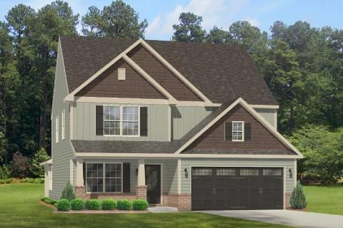 Exterior featured in the Bailey By Windsor Homes in Greensboro-Winston-Salem-High Point, NC