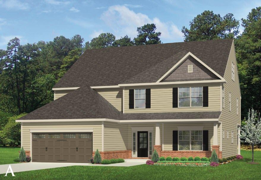 Exterior featured in the Hickory By Windsor Homes in Greensboro-Winston-Salem-High Point, NC