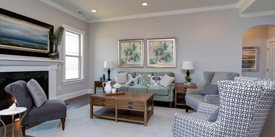 Living Area featured in the Hickory By Windsor Homes in Greensboro-Winston-Salem-High Point, NC