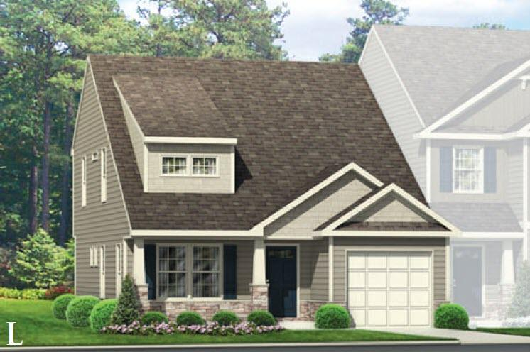 Exterior featured in the Indiana By Windsor Homes in Greensboro-Winston-Salem-High Point, NC