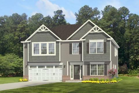 Exterior featured in the Lexington By Windsor Homes in Greensboro-Winston-Salem-High Point, NC