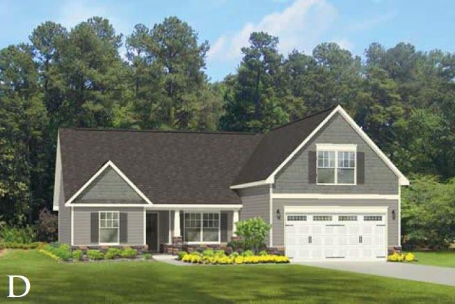 Exterior featured in the Midland II By Windsor Homes in Greensboro-Winston-Salem-High Point, NC