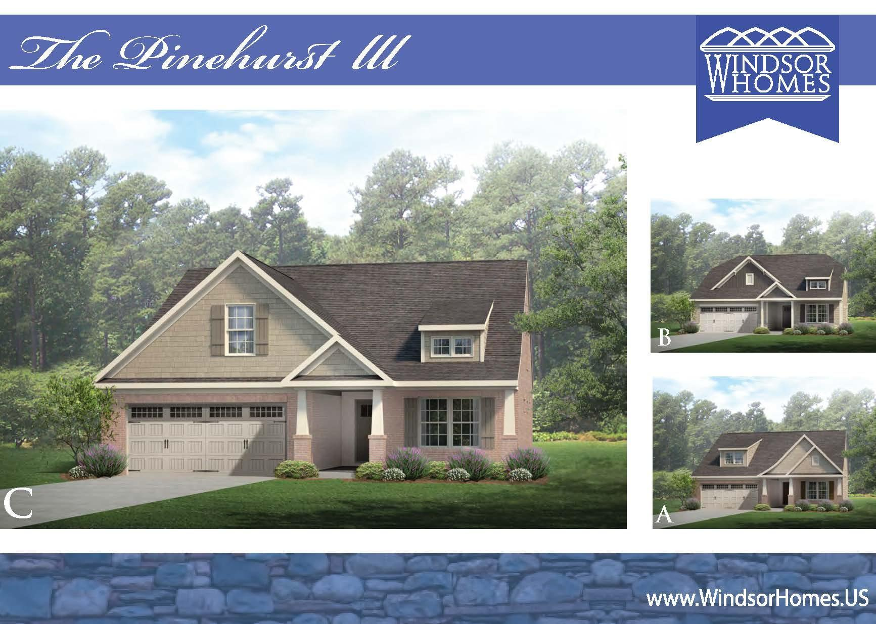 Exterior featured in the Pinehurst III By Windsor Homes in Greensboro-Winston-Salem-High Point, NC