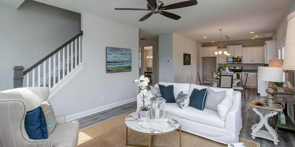 Living Area featured in the Stoddard II By Windsor Homes in Greensboro-Winston-Salem-High Point, NC