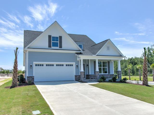 Exterior featured in the Pembroke III By Windsor Homes in Wilmington, NC