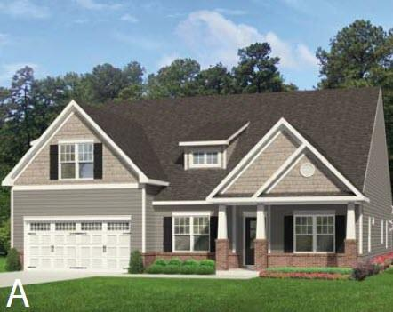 Exterior featured in the Seagate By Windsor Homes in Wilmington, NC